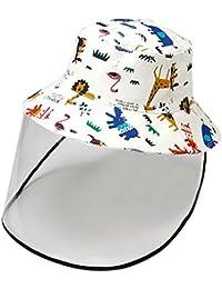 Kids Boy Girl Bucket Hat Sun Protection Hats Breathable Summer Windproof Hat