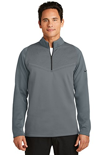 Nike Golf Therma-FIT Hypervis 1/2-Zip Cover-Up. 779803 Dark Grey/Black S