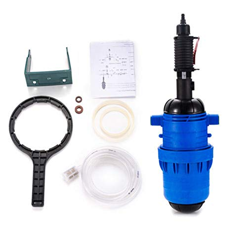 TABODD Fertilizer Injector Dispenser Proportioner 0.2-2% Chemical Injector Water-Driven Powered Flow Dosing Pump Hydraulic Liquid Diluent Proportioner for Drip Irrigation Mixer Hose Livestock Farm