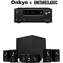 Onkyo TX-NR686 Receiver + Klipsch HDT-600 Home Theater System Bundle