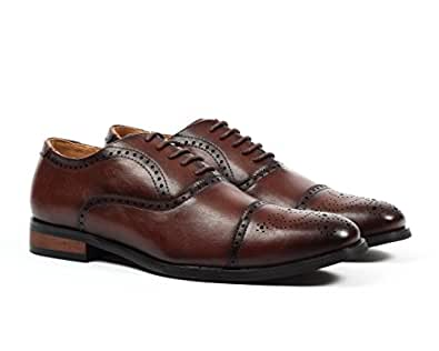 Santino Luciano Mens C-393 C-393 Brown Size: 8