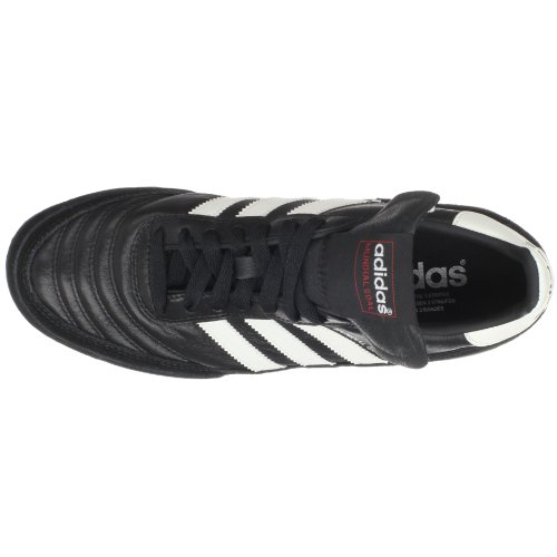 adidas Performance Men's Mundial Goal Soccer Cleat, Black/White, 6.5 M US
