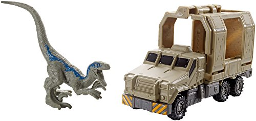 Matchbox Jurassic World Dino Transporters Armored Raptor Hauler