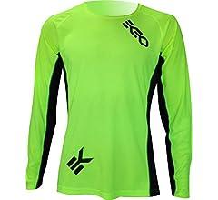 EKEKO SPORT Camiseta L Race Manga Larga, Running, Atletismo Y Deportes EN General. (L, Amarillo): Amazon.es: Deportes y aire libre