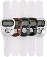 Portable 5-Digit LCD Electronic Digital Golf Sports Universal Finger Hand Held Ring Tally Counter