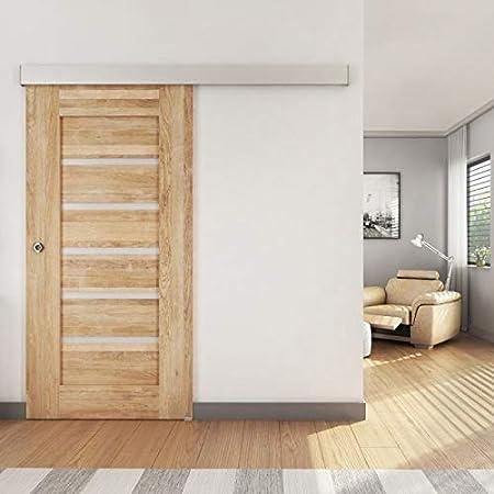 Herraje para puerta corredera SlidUp 170, carril de 200 cm, 1 ...
