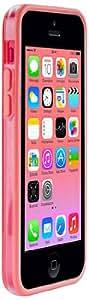 Puro IPCCBUMPERPNK Bumper - Funda para iPhone, color rosa y transparente