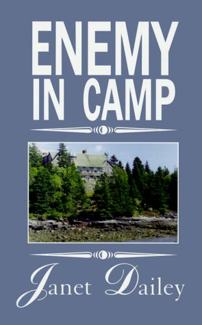 book cover of Enemy in Camp