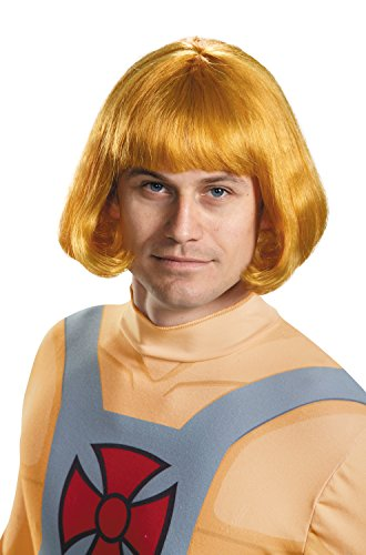 Disguise Men's He-Man Costume Wig, Multi, One