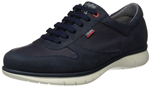 Callaghan 88301, Zapatos de Cordones Oxford para Hombre Azul (Blue)