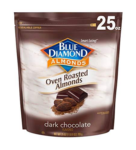 Blue Diamond Almonds Dark Chocolate, 25 Oz