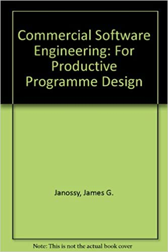 Buy Commercial Software Engineering For Productive Programme Design Book Online At Low Prices In India Commercial Software Engineering For Productive Programme Design Reviews Ratings Amazon In
