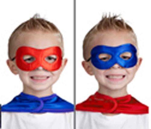 Little Adventures Hero Mask - Black/Red
