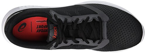 Grau Alert 10 Red 021 Asics Patriot Laufschuhe Grey Herren Dark qx6wv