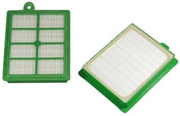 10 Staubsaugerbeutel Vlies 1 HEPA Filter geeignet für AEG Ergospace ZE 335 B