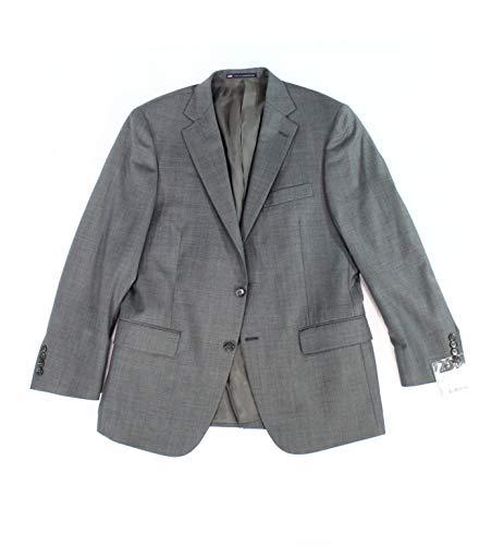 Hart Schaffner Marx Men's 36S Two Button Wool Suit $795 Gray 36