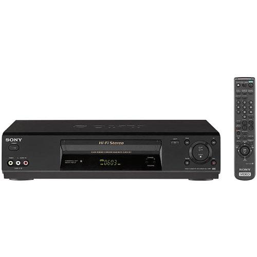 Sony SLV N-77 4-Head Stereo VCR by Sony