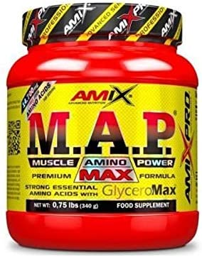 Amix MAP With Glyceromax 340 Gr Natural 340 g