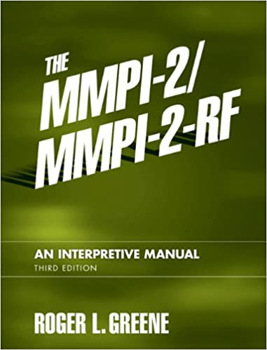 Amazon the mmpi 2mmpi 2 rf an interpretive manual 3rd amazon the mmpi 2mmpi 2 rf an interpretive manual 3rd edition 9780205535859 roger l greene books fandeluxe Image collections