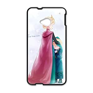Personal Customization Frozen Princess Elsa and Anna Cell Phone Case for HTC One M7