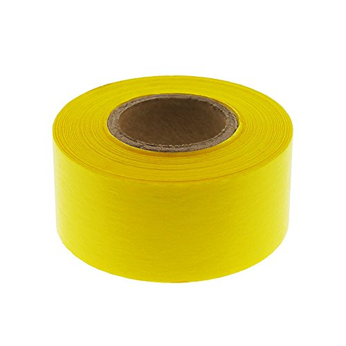 "1"" Yellow Color-Code, Clean-Remove Labeling Tape, Write On Surface 