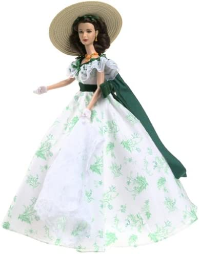 Gone With The Wind Scarlett O/'Hara Barbie Barbecue At Twelve Oaks Brand New