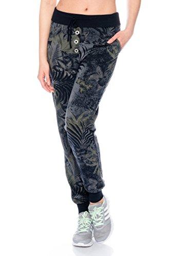 Fashion Flash - Pantalón - Pantalones - para mujer antracita