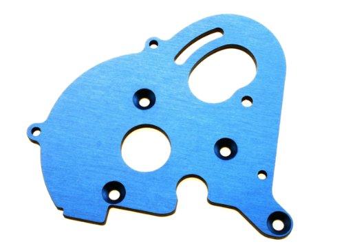 - Traxxas 3997X Blue-Anodized Aluminum Single Motor Plate, E-Maxx
