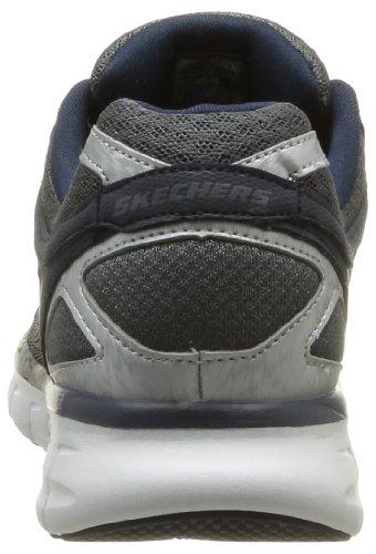 Grau Skechers uomo nbsp;Power Synergy Grigio Sneaker Shield Ccnv AAYWr