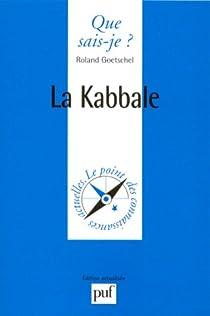 La Kabbale par Goetschel