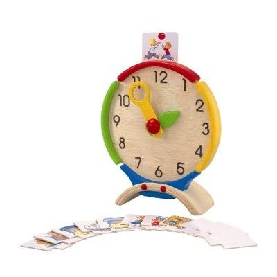 Plan Toy Activity Clock from Plan Toys