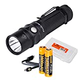 High Capacity Bundle: Fenix RC11 1000 Lumens Rechargeable Cree XM-L2 U2 LED Flashlight with Additional Fenix 3400 mAh 18650 Rechargeable Battery, USB Charging Cable and LumenTac Battery Organizer For Sale