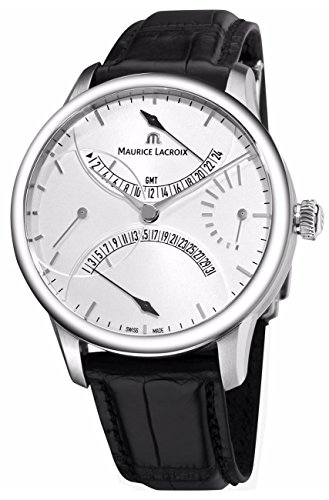 Maurice Lacroix Masterpiece Men's GMT Retrograde Automatic Watch MP6518-SS001-130 -
