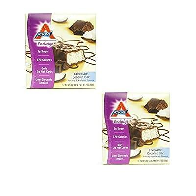 Atkins Endulge Chocolate Coconut Bar - 1.4 Oz, 2 packs