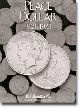 Harris Coin Folder – Peace Type Dollar Folder 1921-1935 #8HRS2709