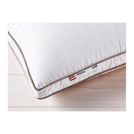 IKEA KNAVEL - Almohada, más firme - 50x80 cm: Amazon.es: Hogar