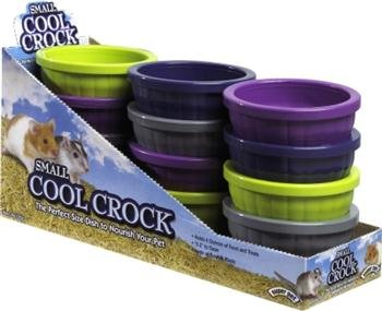 Small Animal Supplies Cool Crock Small 12/Disp by PETS INTERNATIONAL LTD