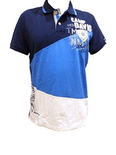 Camp David Polo Shirt Rough Waters II Dark Navy CCB-1707-3537 L XL XXL XXXL