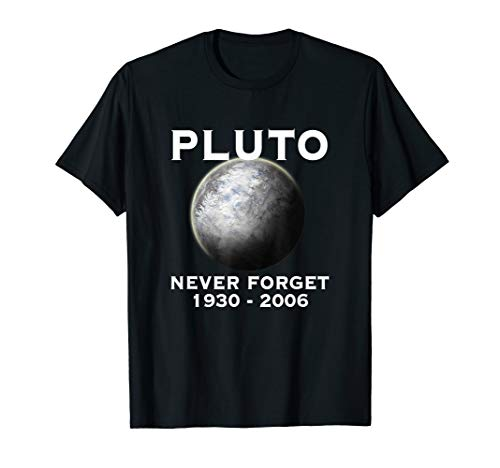 Pluto - Never Forget - 9th Planet Solar System Space -