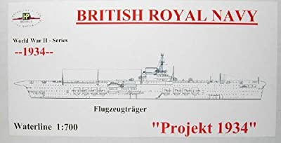 1/700 Royal Navy aircraft carrier project 1934