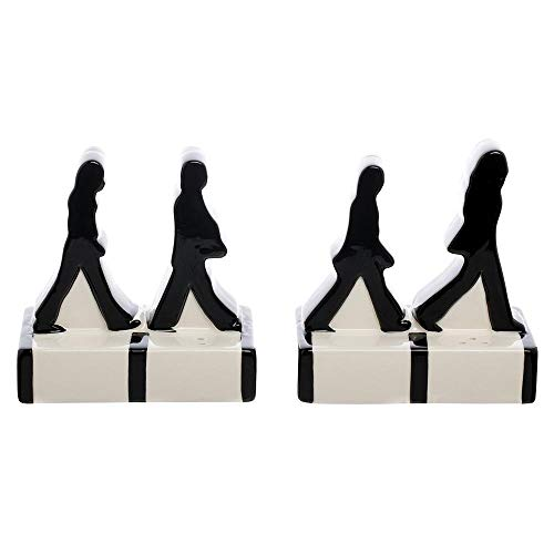 Vandor The Beatles Abbey Road Silhouettes Salt & Pepper Set