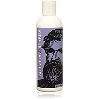Ultra Grooming Shampoo & Wash for Beards by Beardsley and Company, Beard Care Products, Wild Berry 8 oz