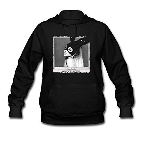 Oiae Womens Ariana Grande Tour Poster Hoodies Sweatshirt L