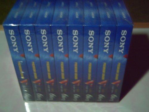 Sony T-120VE VHS 8- Pack