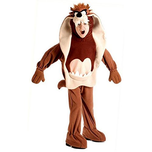 Kids Taz Looney Tunes Costume - Child Small by Rubie's Brown -