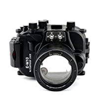 EACHSHOT 40M 130ft Underwater Case Camera Housing Diving Bag For Olympus E-M10 EM10 with 14mm- 42mm Lens