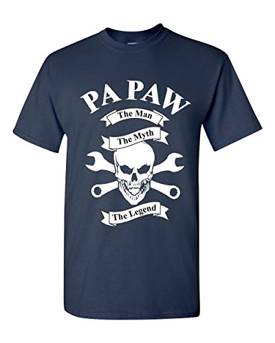 Papaw The Man The Myth The Legend Fathers Day Men's T Shirts Sizes S - 3XL