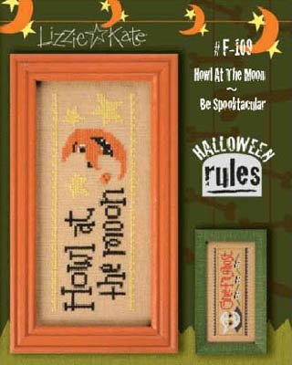 Halloween Rules-Howl/Spooktacular Cross Stitch Chart and