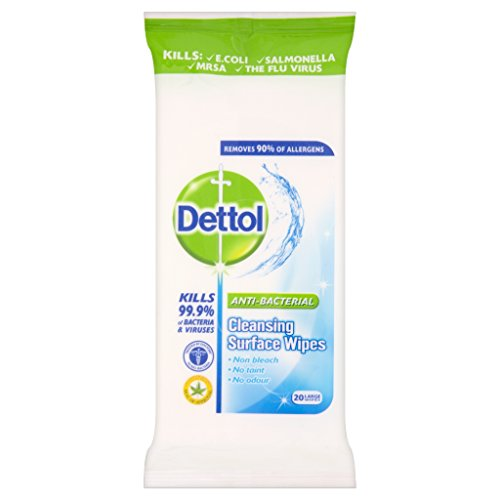 Dettol Surface Wipes Pack 20