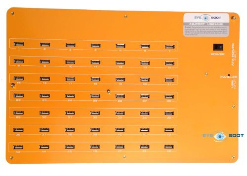 Eyeboot 49 Port USB 2.0 Hub 24P ATX PSU 110v/220v by Eyeboot
